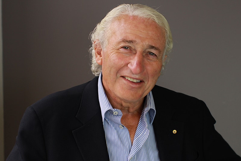 Businessman and Philanthropist Peter Ivany in Boardroom Broadcasts